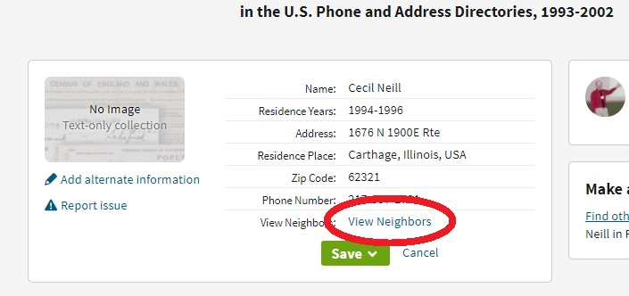 Playing with Ancestry's US Phone Directories 1993-2002 | Rootdig